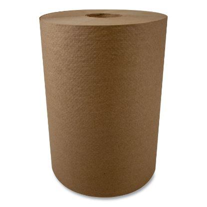 """Picture of 10 Inch Roll Towels, 1-Ply, 10"""" x 800 ft, Kraft, 6 Rolls/Carton"""