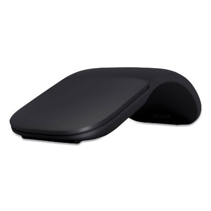 Picture of Arc Wireless Bluetooth Mouse, 32.8 ft Wireless Range, Left/Right Hand Use, Black