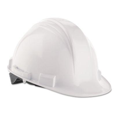 Picture of A-Safe Peak Hard Hat, White, Rain Trough