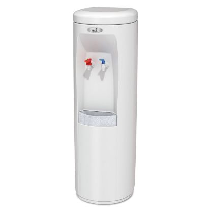 Picture of Atlantis Floorstand Hot N Cold Water Cooler, 177 oz/Cold Water per Hour; 270 oz/Hot Water per Hour, White