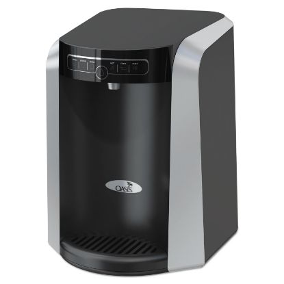 Picture of Aquarius Counter Top Hot N Cold Water Cooler, 177 oz/Cold Water per Hour; 270 oz/Hot Water per Hour, Black