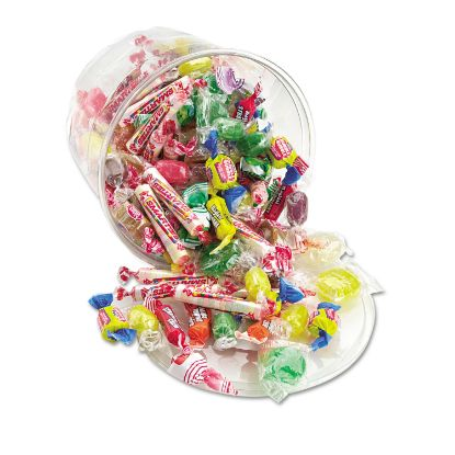 Picture of All Tyme Favorite Assorted Candies and Gum, 2 lb Resealable Plastic Tub