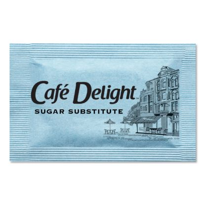 Picture of Blue Sweetener Packets, 0.08 g Packet, 2000 Packets/Box