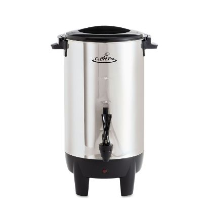 Picture of 30-Cup Percolating Urn, Stainless Steel