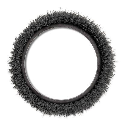 "Picture of Orbiter Grit Scrub Brush, 13"" dia, Gray"
