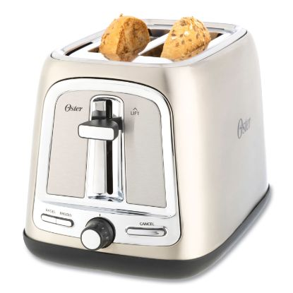 Picture of Extra Wide Slot Toaster, 2-Slice, 7.5 x 11 x 8, Stainless Steel