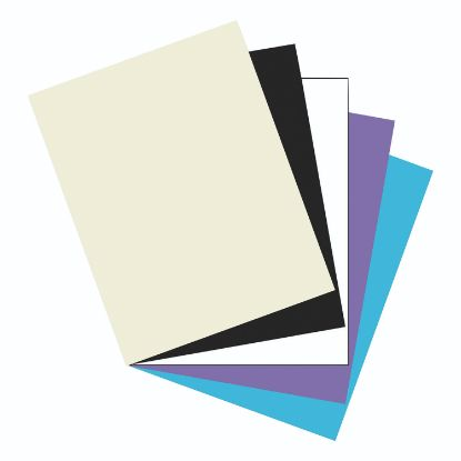Picture of Array Card Stock, 65lb, 8.5 x 11, Assorted Classic Colors, 50/Pack