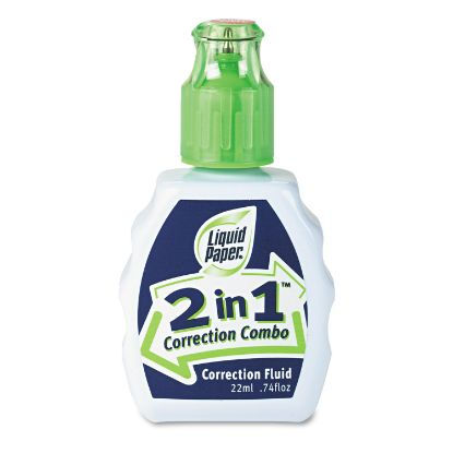 Picture of 2-In-1 Correction Combo, 22 ml Bottle, White