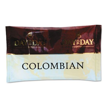 Picture of 100% Pure Coffee, Colombian Blend, 1.5 oz Pack, 42 Packs/Carton