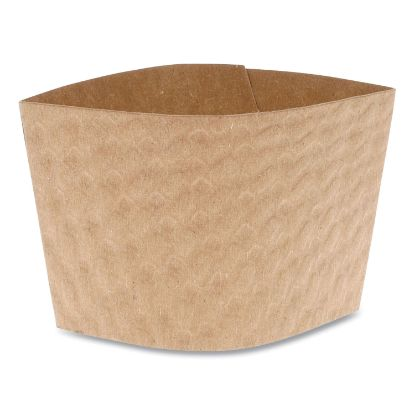 Picture of Cup Sleeve, Fits 12-24 oz Cups, Kraft, 1,000/Carton