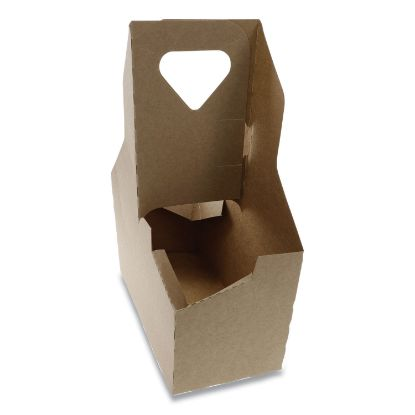Picture of Cup Carrier, Up to 44 oz, Two to Four Cups, 250/Carton