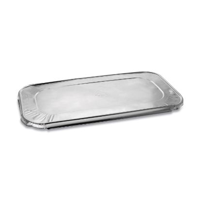 Picture of Aluminum Steam-Pan Lids, 1/3 Size, 12.31 x 6.19, 200/Carton