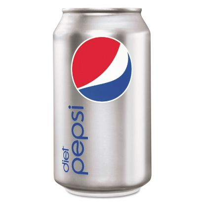 Picture of Diet Cola, 12 oz Soda Can, 24/Pack