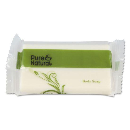 Picture of Body & Facial Soap, # 1 1/2, Fresh Scent, White, 500/Carton