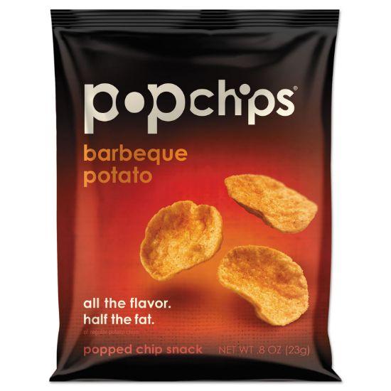 Picture of Potato Chips, BBQ Flavor, 0.8 oz Bag, 24/Carton
