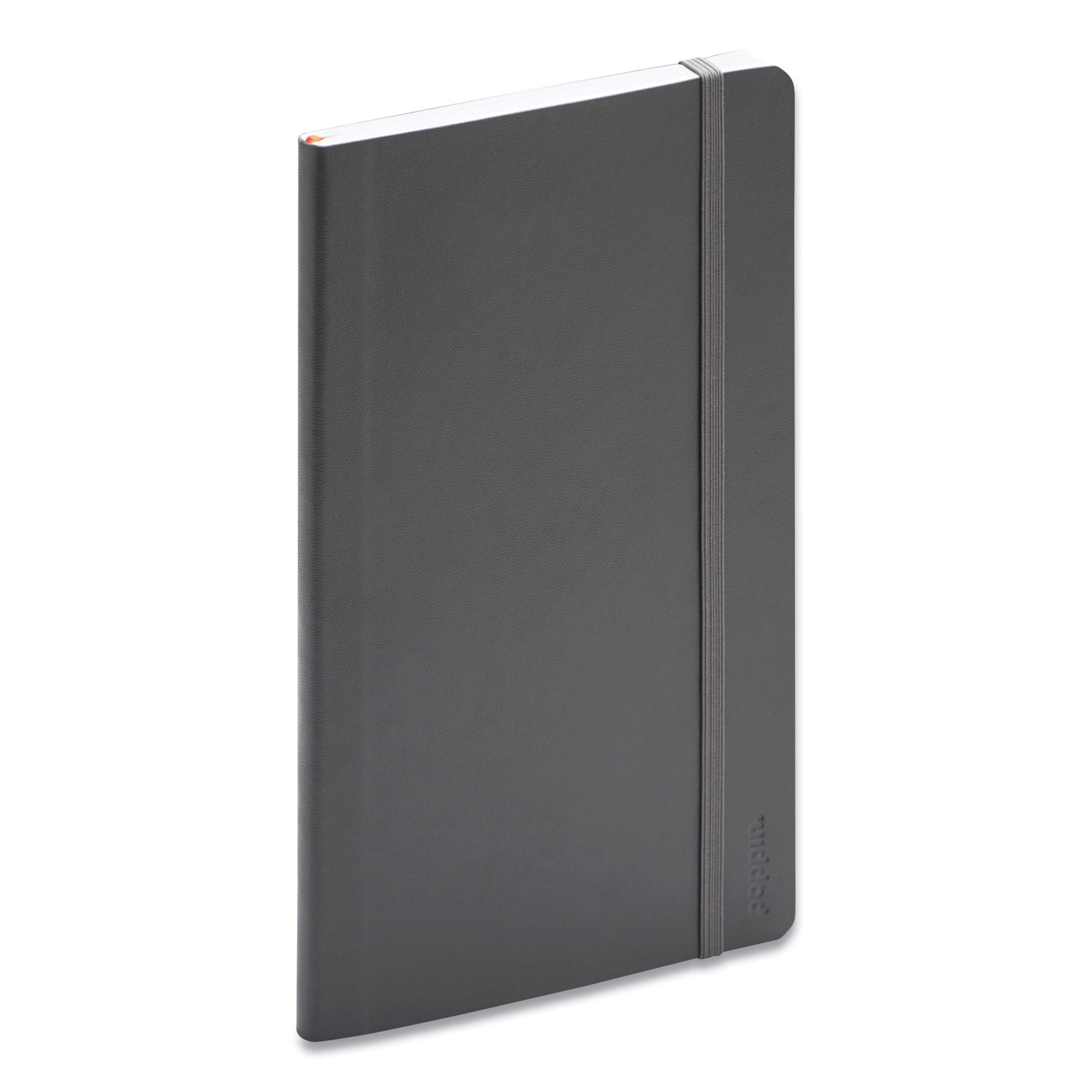 Picture of Professional Notebook, College Rule, Dark Gray 8.25 x 5, 96 Sheets