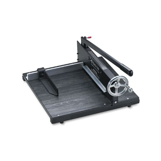 """Picture of Commercial Stack Paper Cutter, 350 Sheet Capacity, Wood Base, 16"""" x 20"""""""