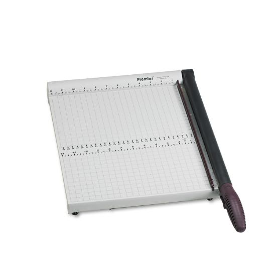 """Picture of PolyBoard Paper Trimmer, 10 Sheets, Plastic Base, 12 1/4"""" x 17 1/4"""""""
