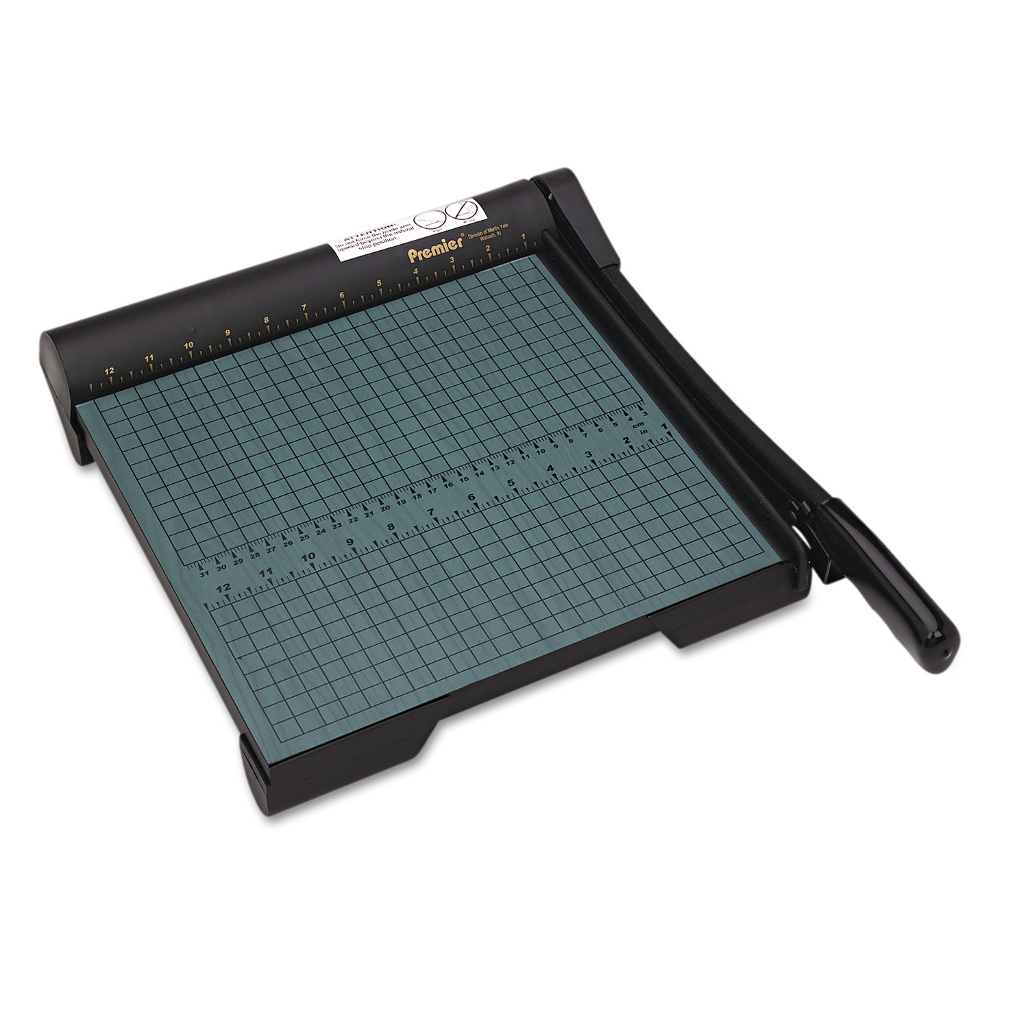 """Picture of The Original Green Paper Trimmer, 20 Sheets, Wood Base, 12 1/2""""x 12"""""""