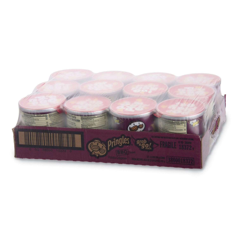 Picture of Potato Crisps, BBQ, 1.41 oz Can, 36/Box