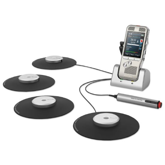 Picture of Pocket Memo Conference Recording and Transcription System 2GB, Silver