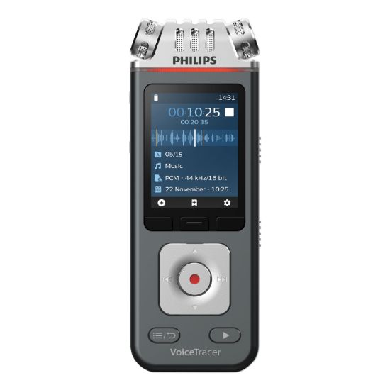 Picture of Voice Tracer 6110 Digital Recorder, 8 GB, Black