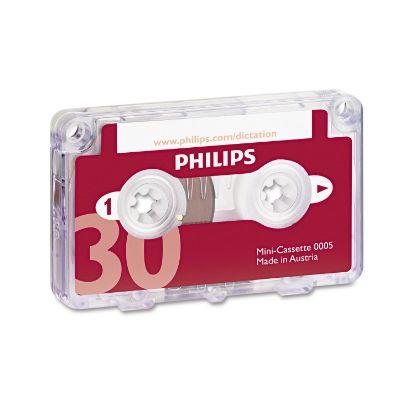 Picture of Audio & Dictation Mini Cassette, 30 Minutes (15 x 2), 10/Pack