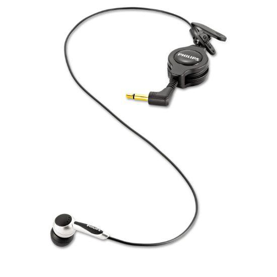 Picture of Digital Telephone Pickup Microphone, 2 Ear Cushions, Black