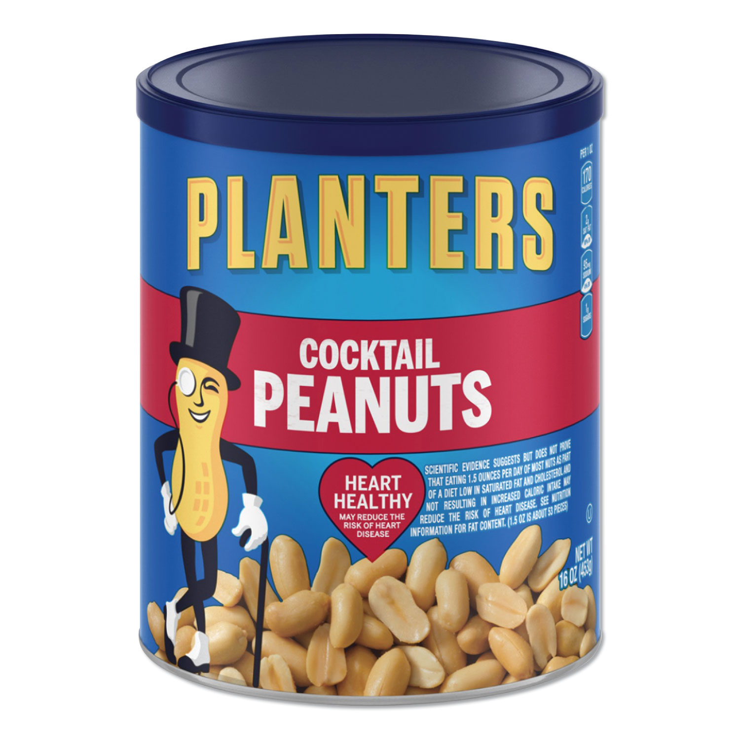 Picture of Cocktail Peanuts, 16 oz Can