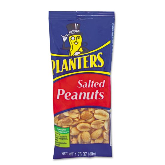 Picture of Salted Peanuts, 1.75 oz, 12/Box