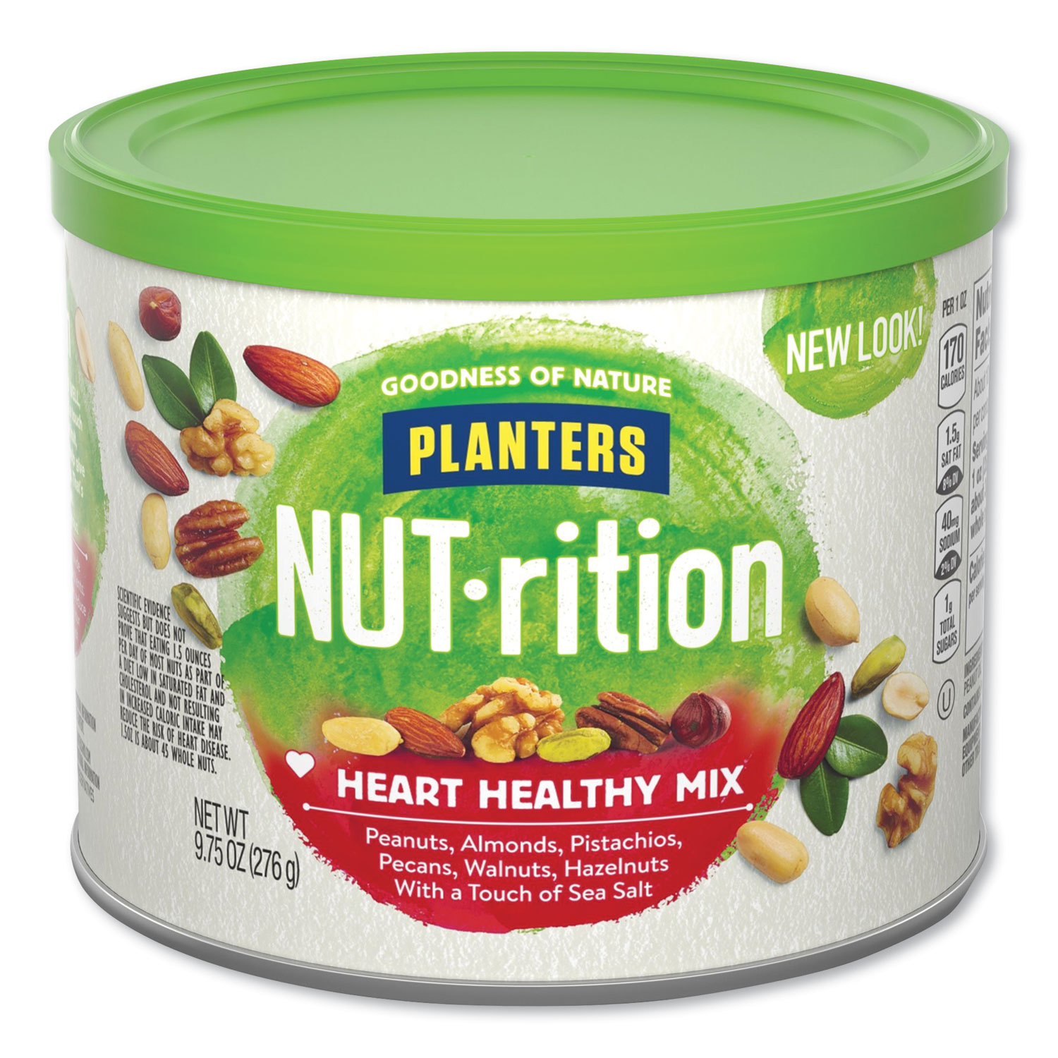 Picture of NUT-rition Heart Healthy Mix, 9.75 oz Can