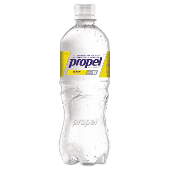 Picture of Flavored Water, Lemon, Bottle, 500mL, 24/Carton