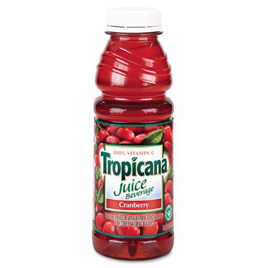 Picture of Juice Beverage, Cranberry, 15.2oz Bottle, 12/Carton