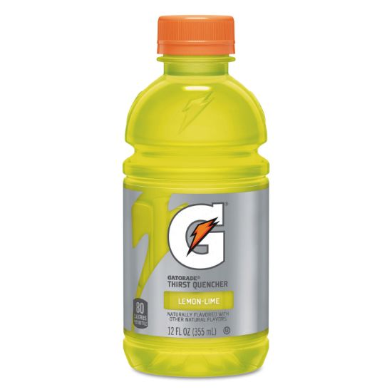Picture of G-Series Perform 02 Thirst Quencher, Lemon-Lime, 12 oz Bottle, 24/Carton