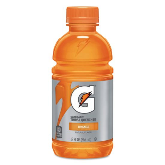 Picture of G-Series Perform 02 Thirst Quencher, Orange, 12 oz Bottle, 24/Carton