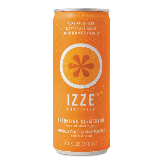 Picture of Fortified Sparkling Juice, Clementine, 8.4 oz Can, 24/Carton