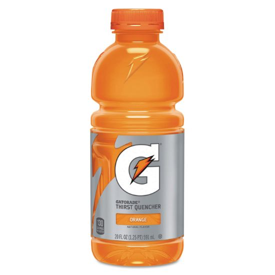 Picture of G-Series Perform 02 Thirst Quencher, Orange, 20 oz Bottle, 24/Carton
