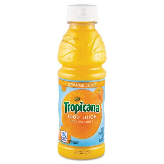 Picture of 100% Juice, Orange, 10oz Bottle, 24/Carton