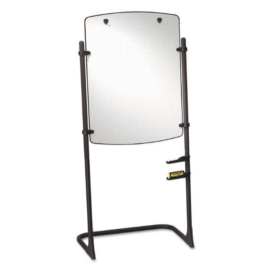 Picture of Total Erase Presentation Dry Erase Easel, 31 x 41, White, Black Steel Frame
