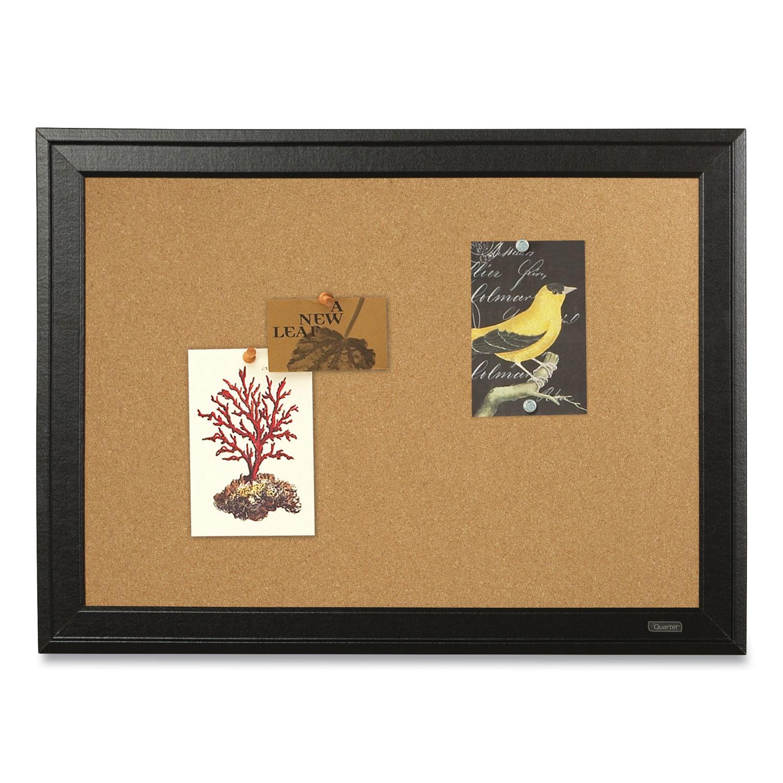 Picture of Basics Cork Bulletin Board, 36 x 24, Silver Aluminum Frame