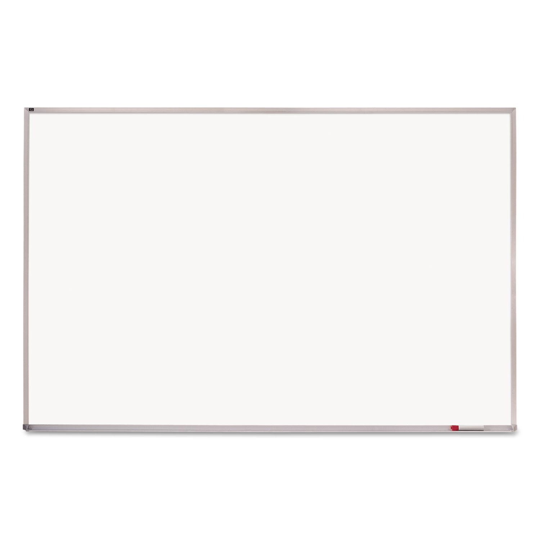 Picture of Melamine Whiteboard, Aluminum Frame, 96 x 48