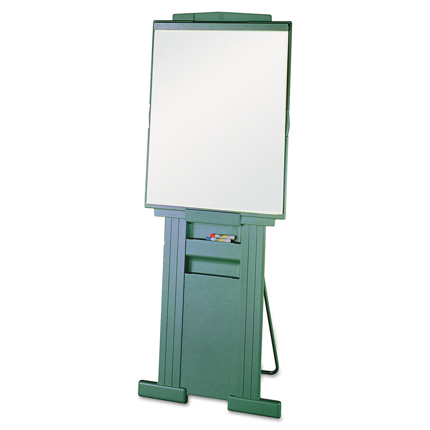 """Picture of Duramax Portable Presentation Easel, Adjusts 39"""" to 72"""" High, Plastic, Gray"""