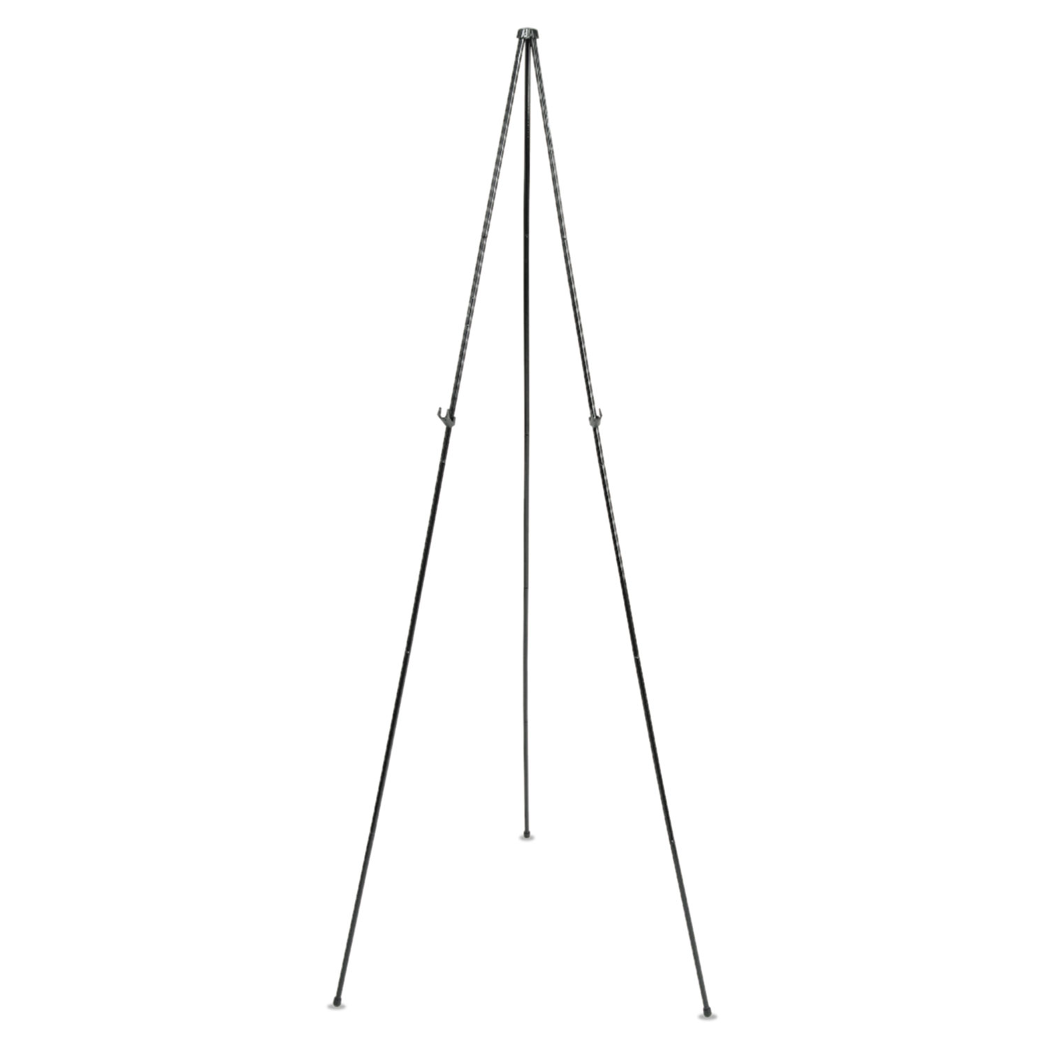"""Picture of Full Size Instant Easel, 62-3/8"""" Maximum Height, Steel, Black"""