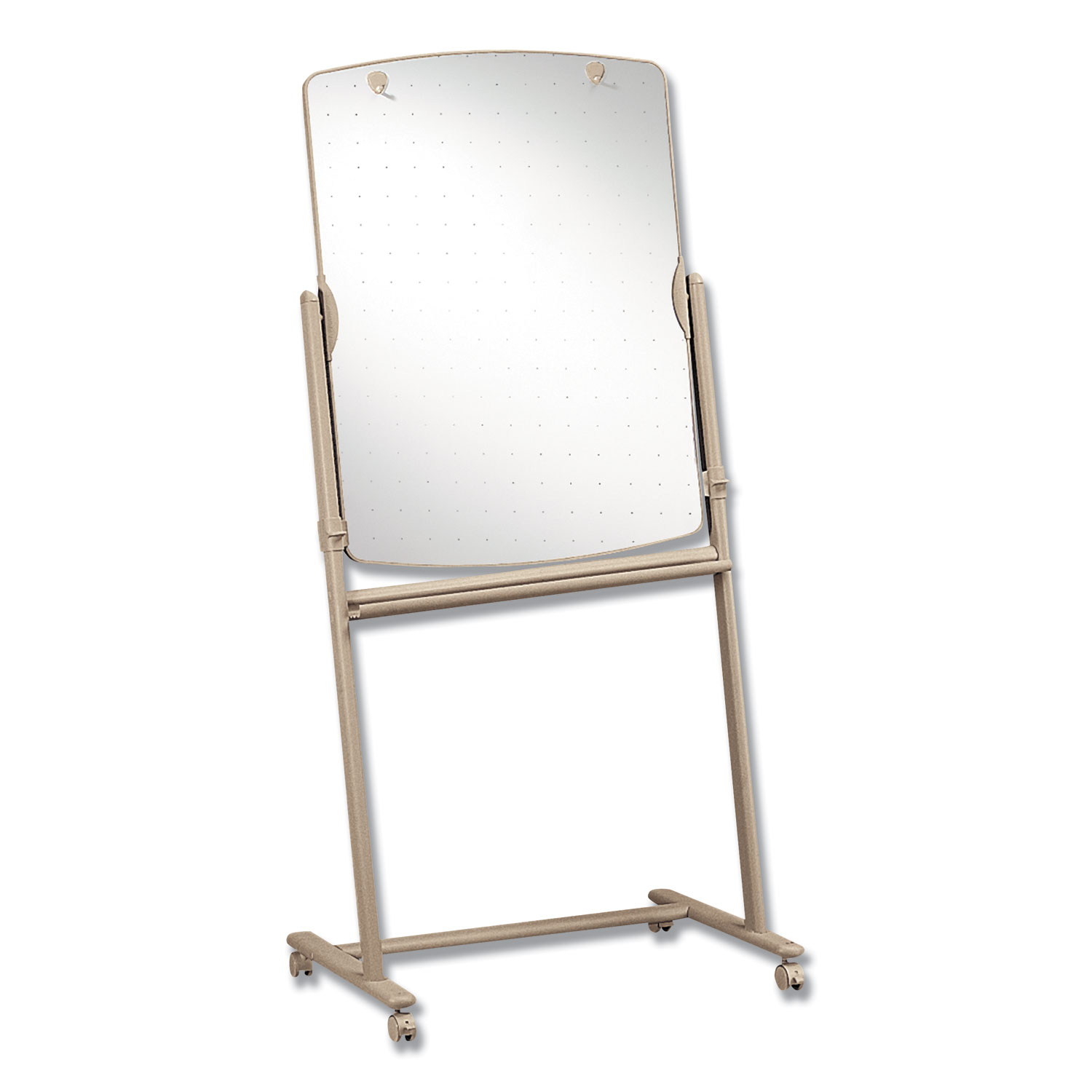 Picture of Total Erase Reversible Mobile Easel, 31 x 41, White Surface, Neutral Frame