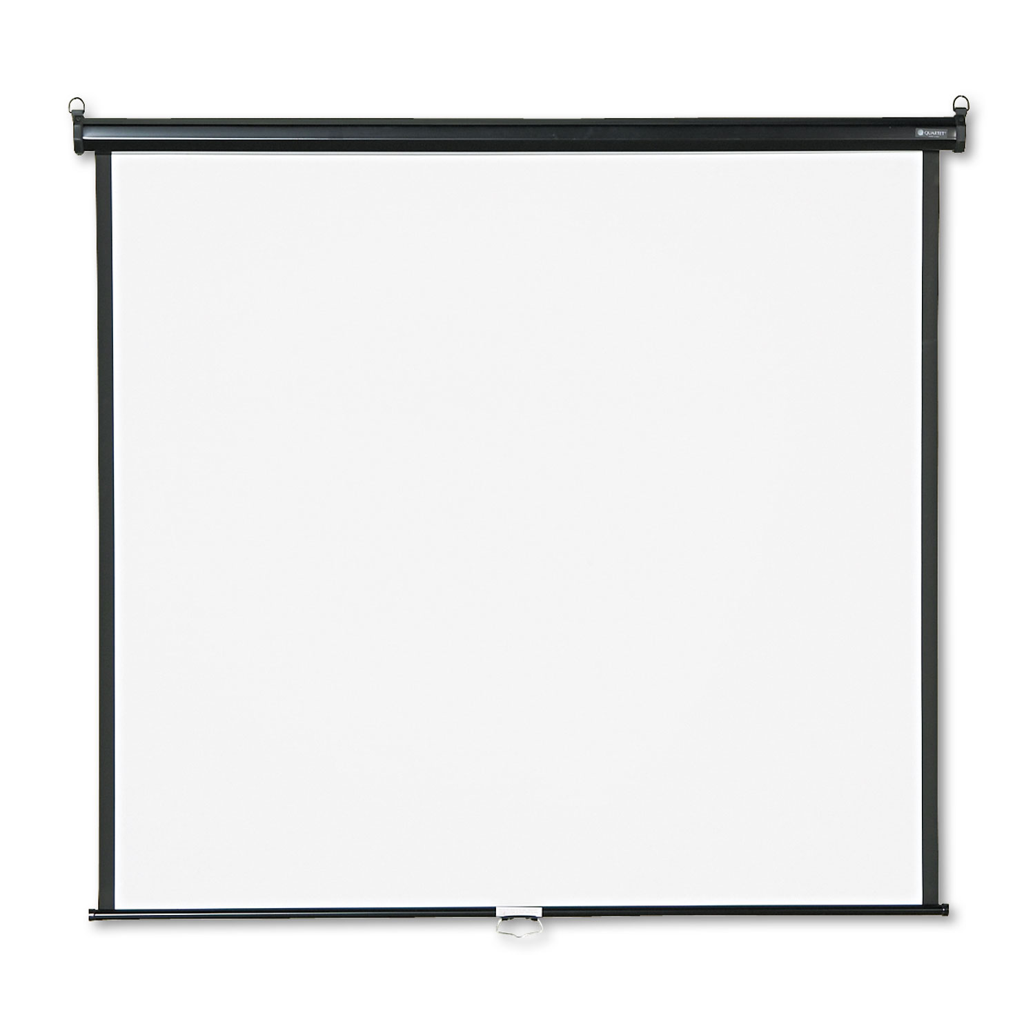 Picture of Wall or Ceiling Projection Screen, 60 x 60, White Matte, Black Matte Casing