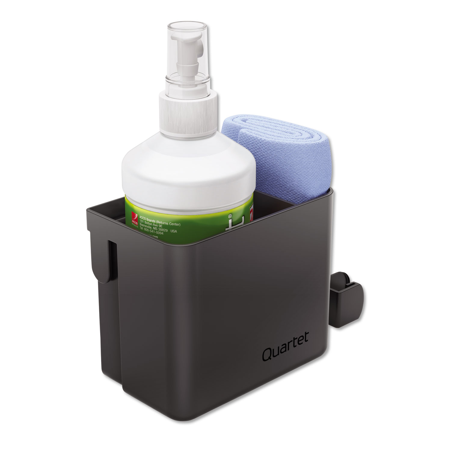 Picture of Prestige 2 Connects Cleaning Dry-Erase Kit, Caddy, 16 oz Bottle/Magnetic Cloth