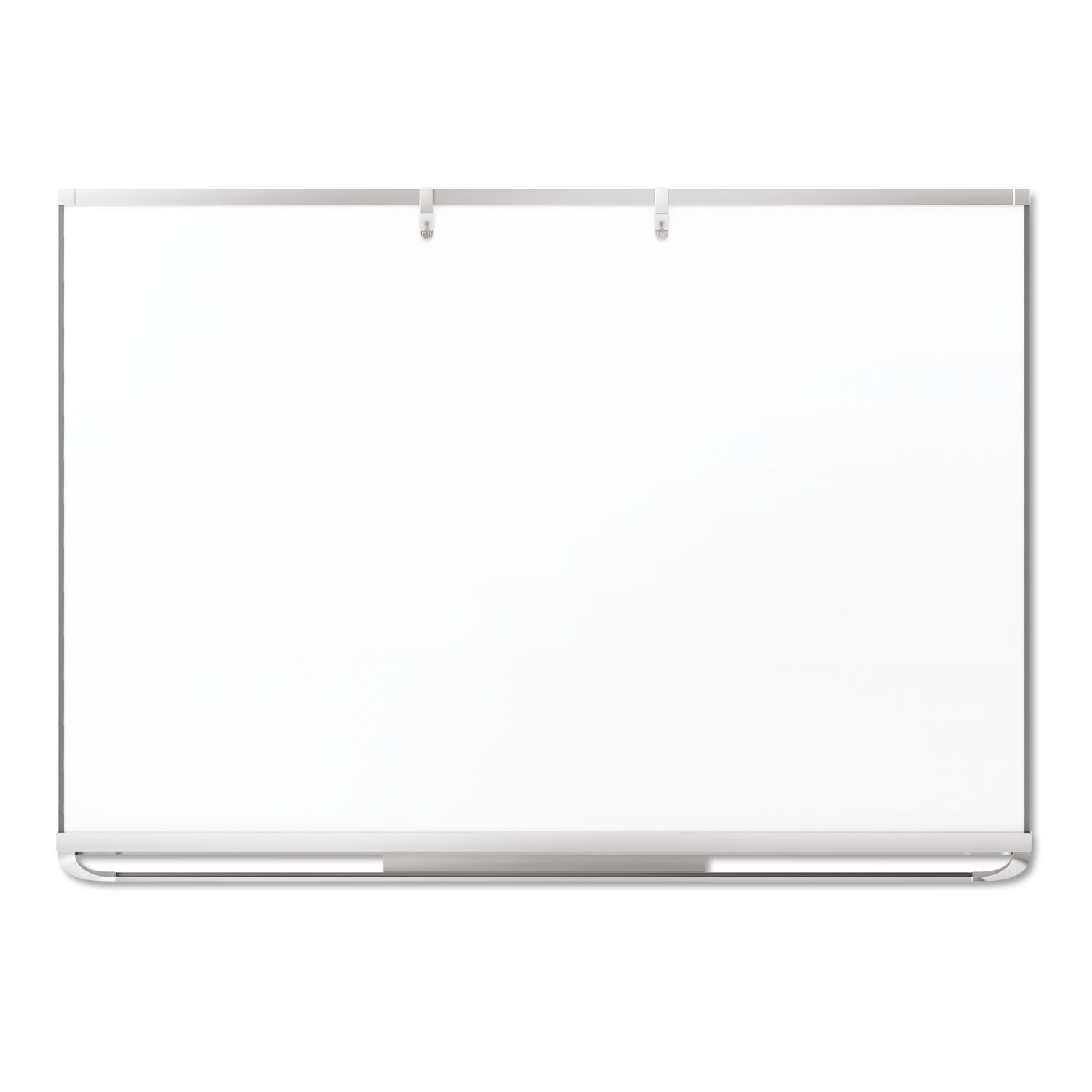Picture of Prestige 2 Connects Flipchart Hooks, Plastic, Silver, 25 lb Capacity