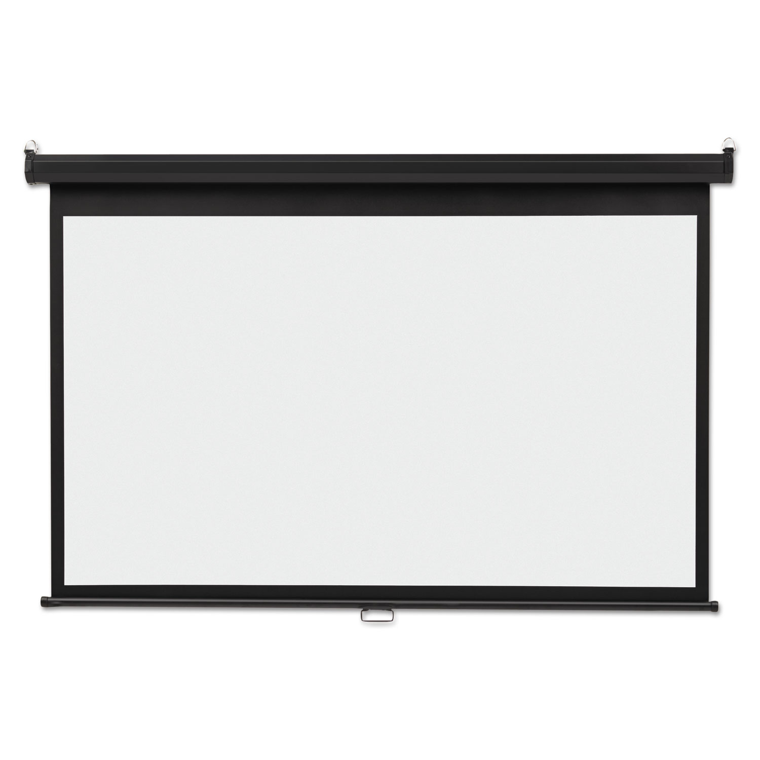 Picture of Wide Format Wall Mount Projection Screen, 65 x 116, White