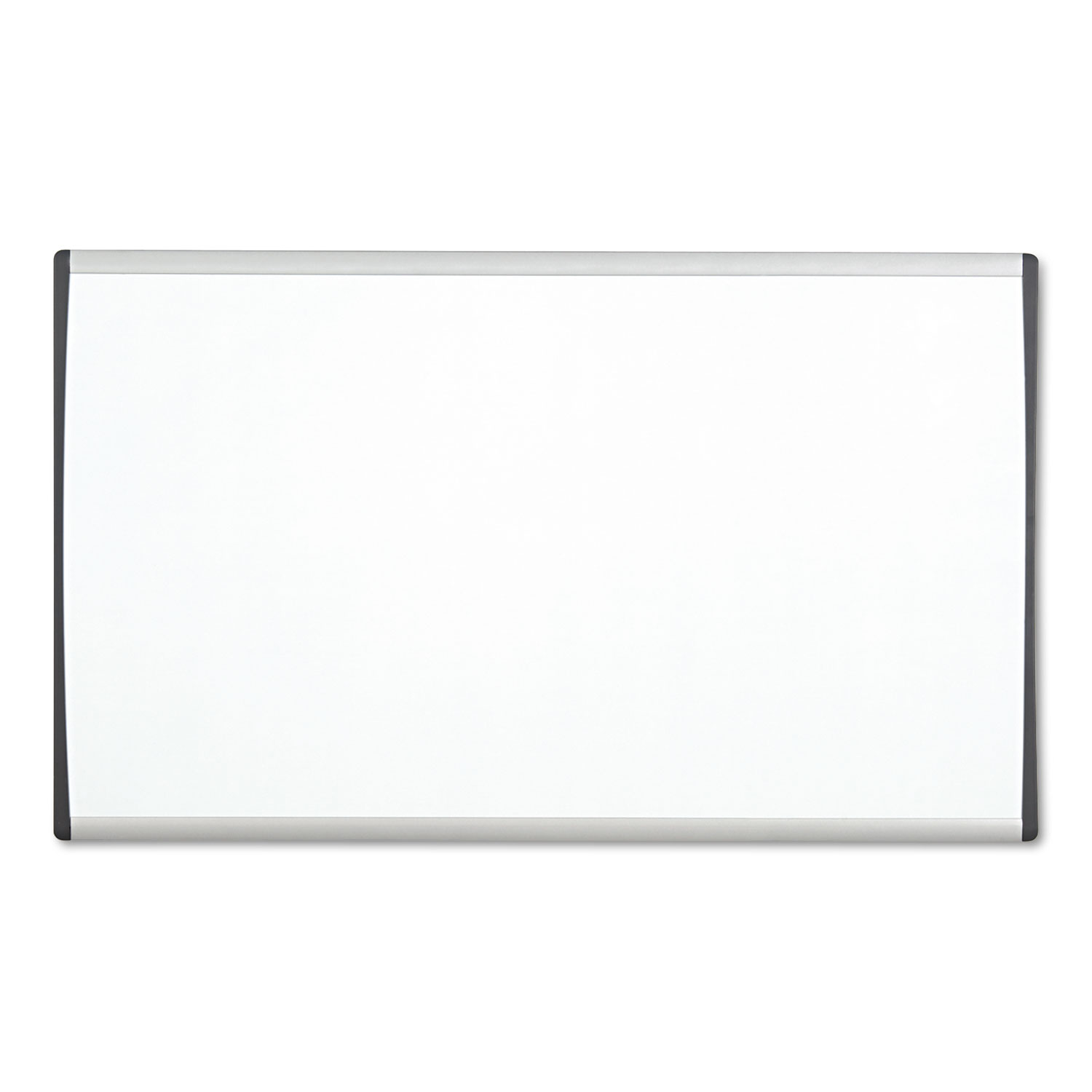 Picture of Magnetic Dry-Erase Board, Steel, 14 x 24, White Surface, Silver Aluminum Frame