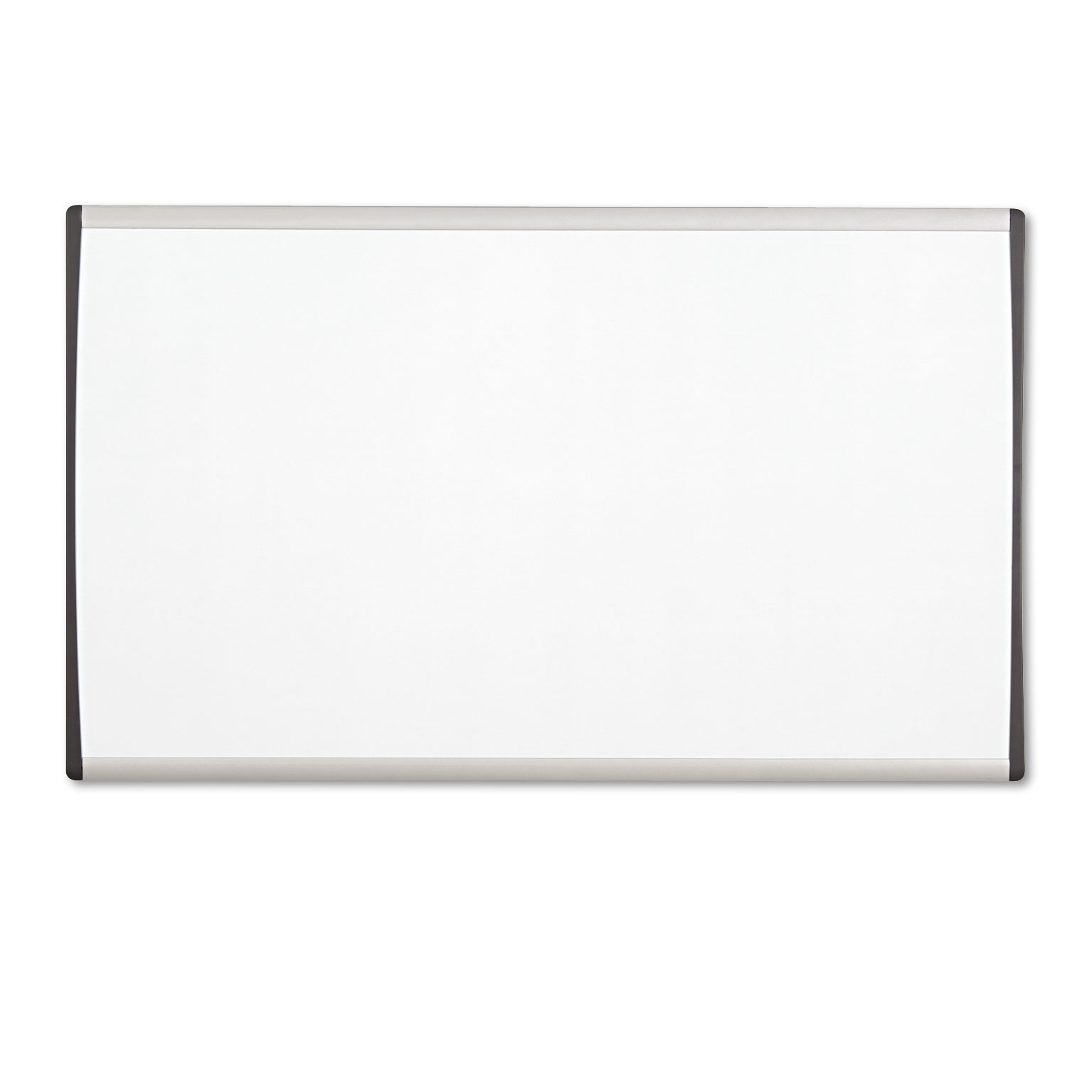 Picture of Magnetic Dry-Erase Board, Steel, 18 x 30, White Surface, Silver Aluminum Frame